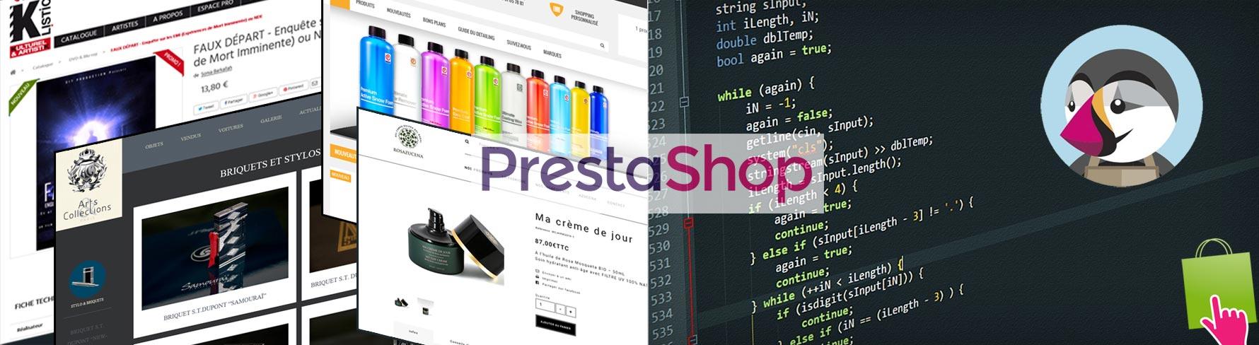 Photo pour illustrer : Tutoriels Prestashop - solutions e-commerce