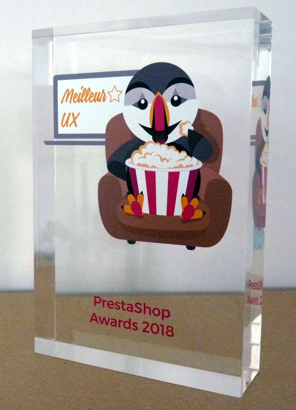 Prestashop Awards 2018 Meilleur UX - Agence Com'onSOft pour le site Air Moto Tours